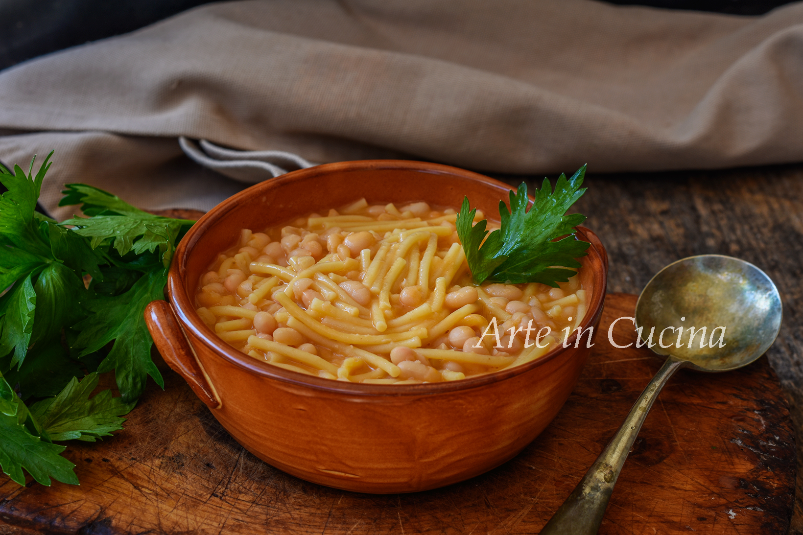 Pasta e fagioli ricetta classica napoletana