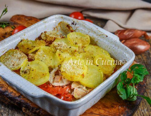 Patate e pollo del contadino