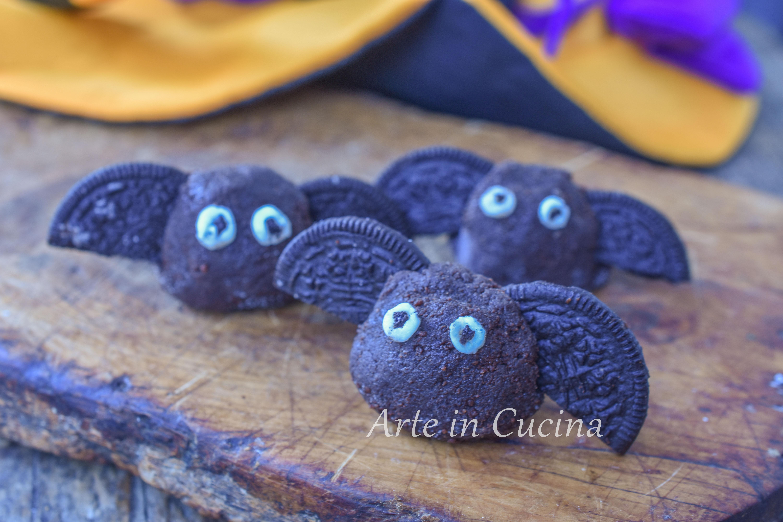 Pipistrelli dolci di halloween biscotti