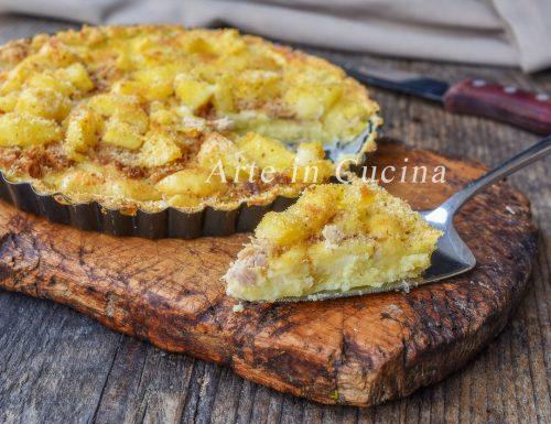 Sbriciolata di patate e tonno veloce
