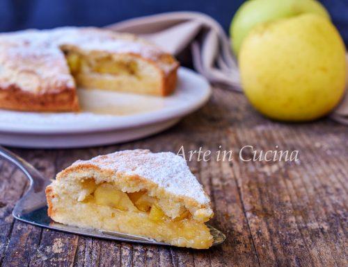 Torta sospiro alle mele dolce veloce