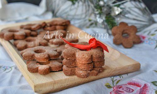 Canestrelli al cioccolato biscotti tipici