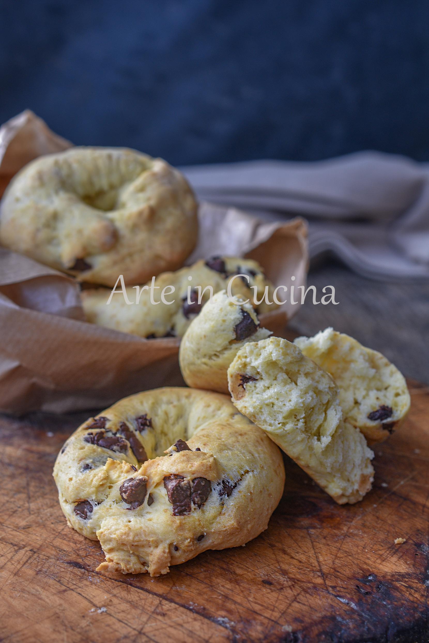 Ciambelle cookies veloci ricetta furba