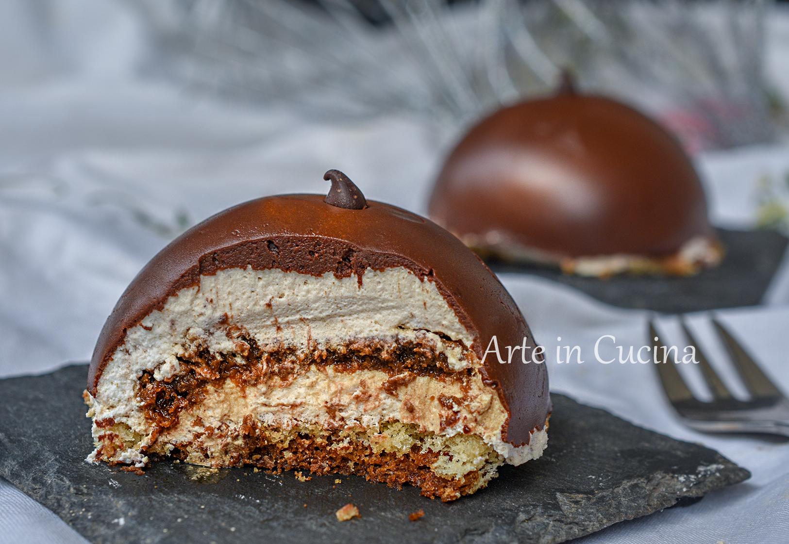 Dolci monoporzione al cioccolato e tiramis eleganti e for Dolci e ricette