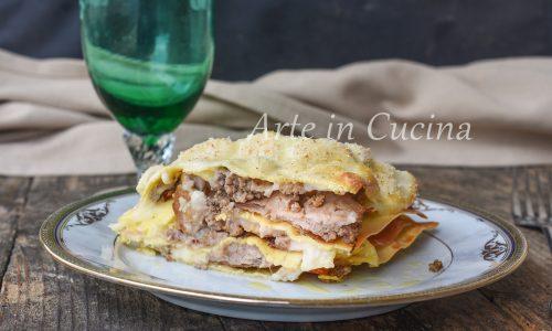 Lasagne speck e carne macinata veloce