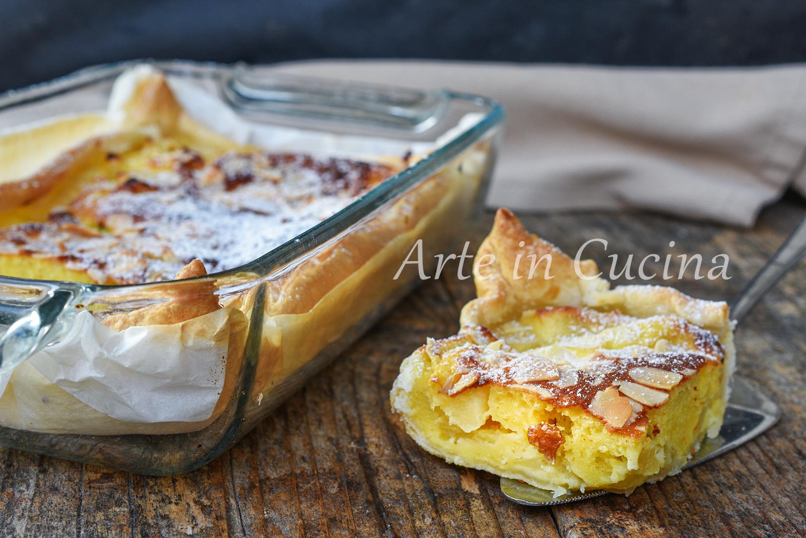 Teglia di mele al forno veloce