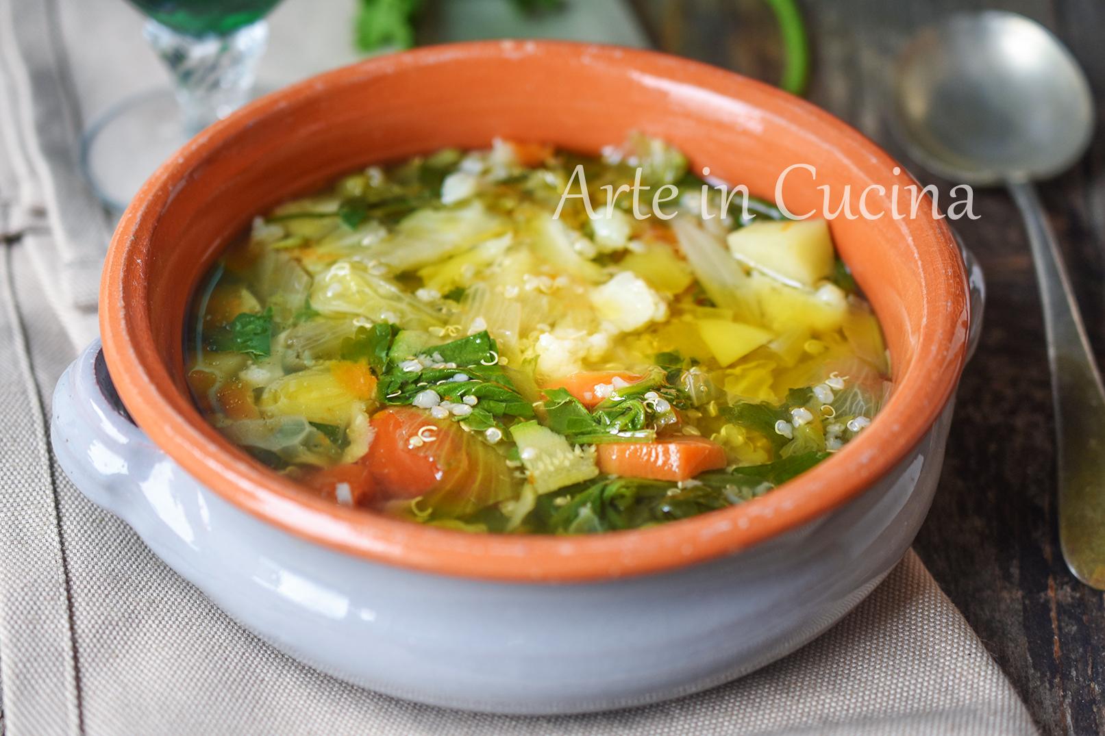 ricette quinoa con verdure light