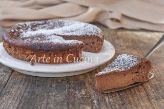 Torta di ricotta e cacao con farina di riso dolce veloce