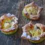 Cestini di mele dolci monoporzione veloci