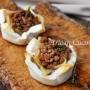 Cestini di pane con lenticchie e salsiccia