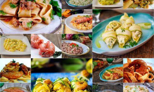 Primi piatti con gamberi menu di pesce