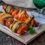 Spiedini con verdure grigliate al forno