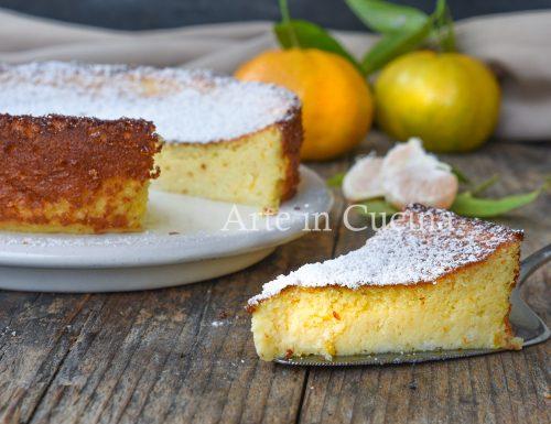 Torta ricotta e mandarini dolce veloce