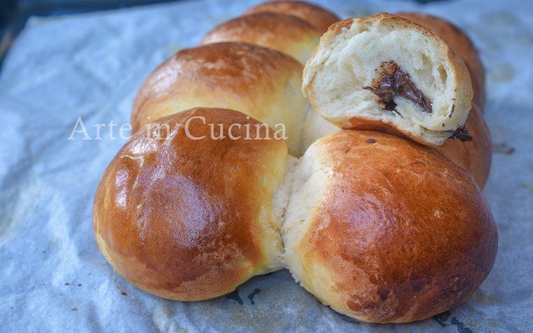Pan di panna alla nutella sofficissimo