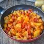 Patate al pomodoro in padella