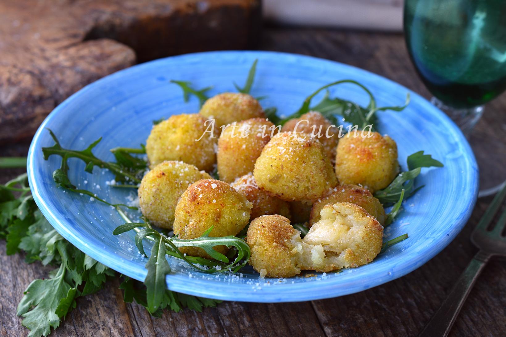 Perle di patate al forno gratinate