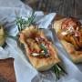 Barchette di pizza con patate veloci