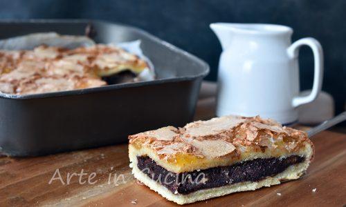 Crostata biscotto all'amarena