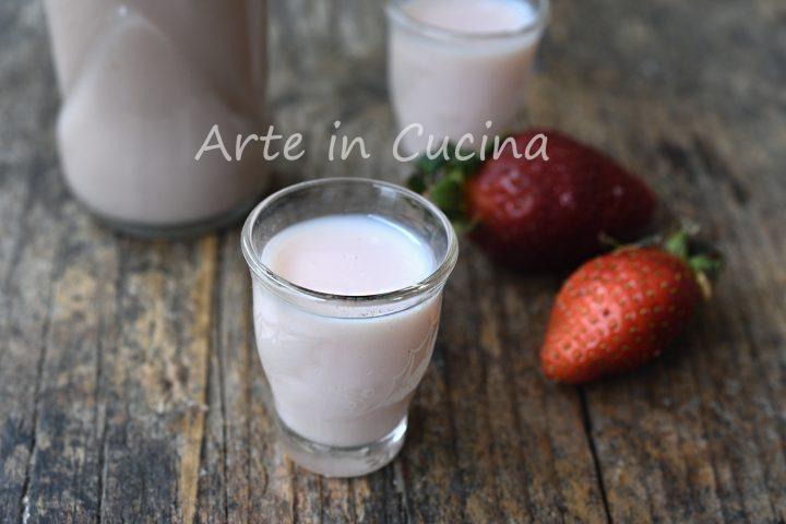 Liquore fragolino cremoso