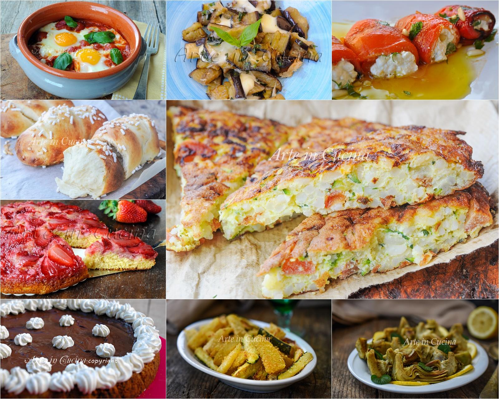 Organizzare Il Menu Della Settimana menu della settimana ricette dall'antipasto al dolce