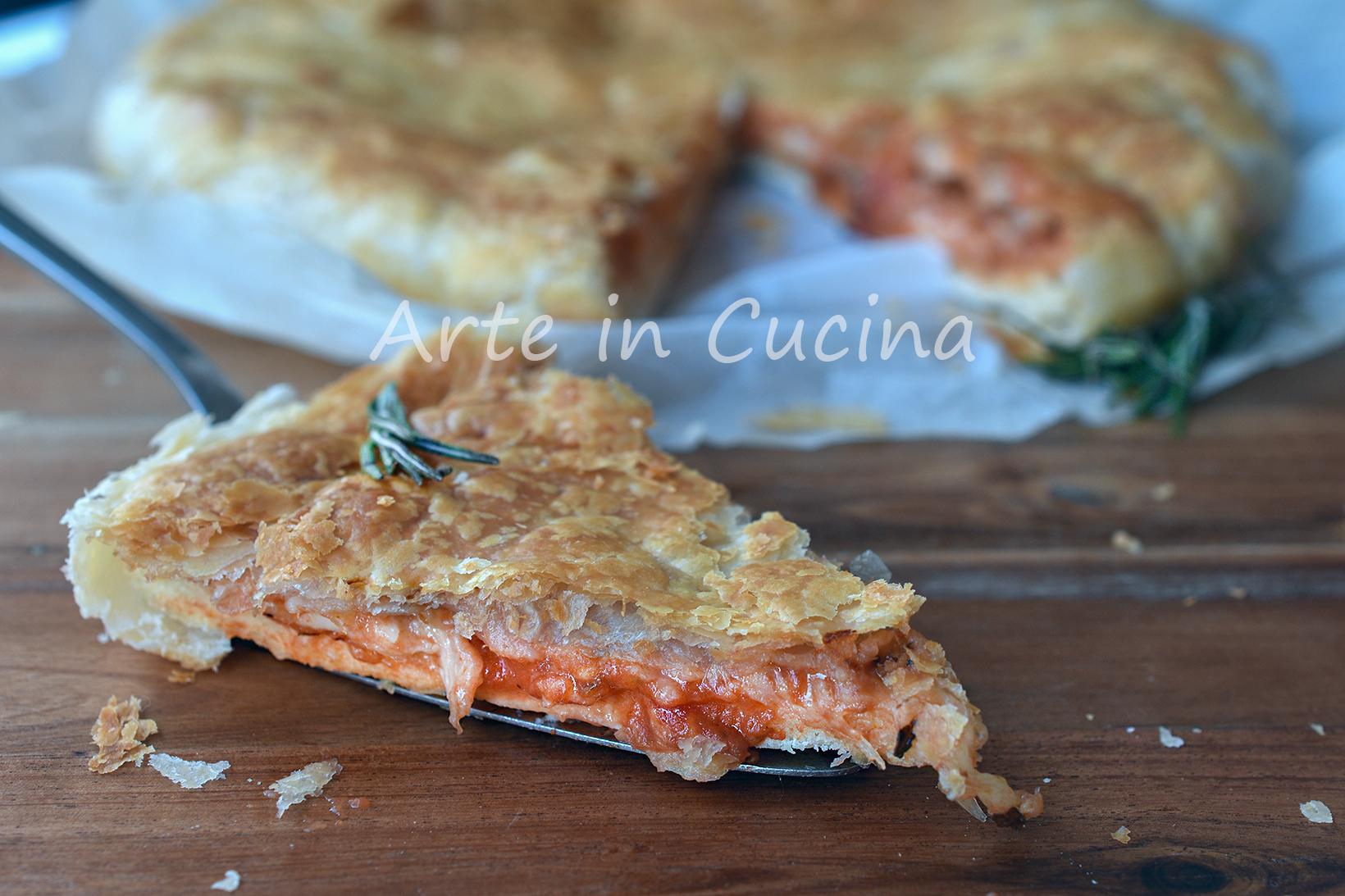 Pizza finta veloce in pochi minuti