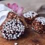Salame al riso soffiato e cioccolato