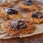 Spaghetti fritti con nutella