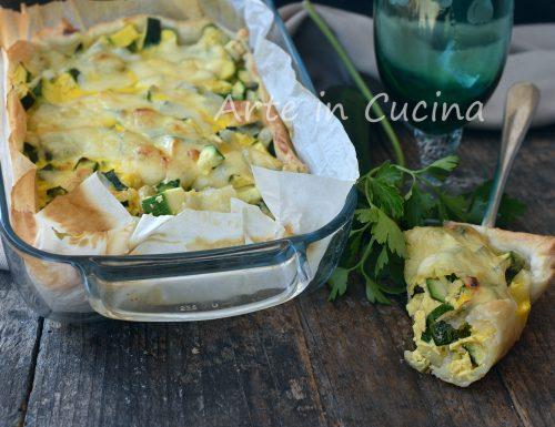 Teglia di zucchine saporita al forno