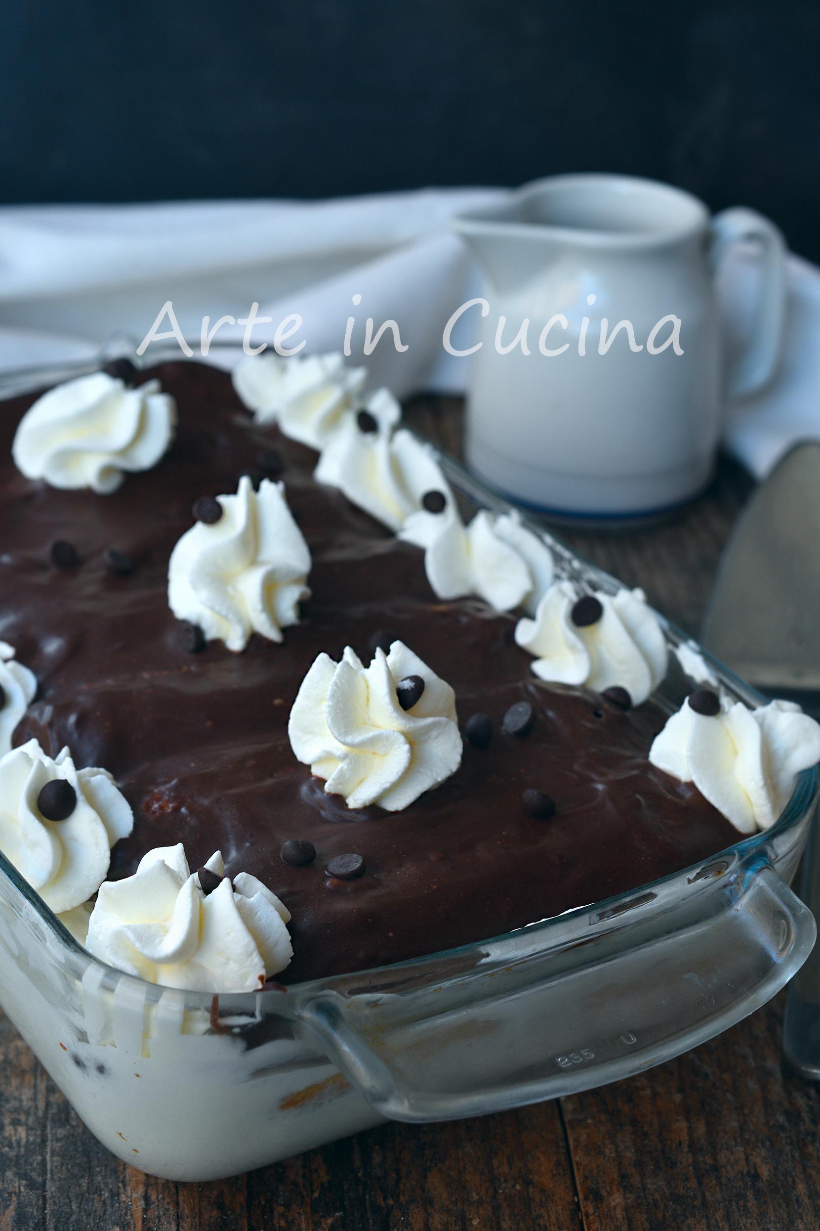 Tiramisù al cioccolato e cocco