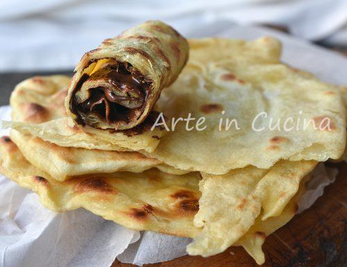 Msemen crêpes sfogliate ricetta marocchina