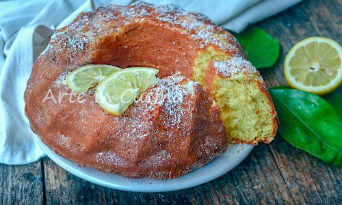 Ciambellone al limone e cocco
