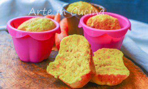 Muffin alle carote facili e veloci