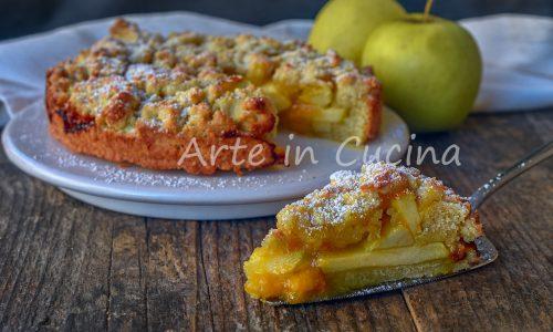 Sbriciolata mele e marmellata dolce veloce