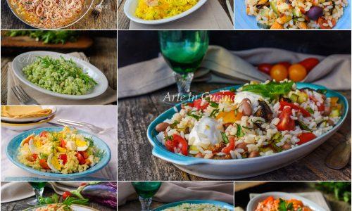 Risotti estivi leggeri con verdure