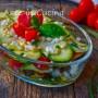 Millefoglie zucchine e melanzane senza cottura
