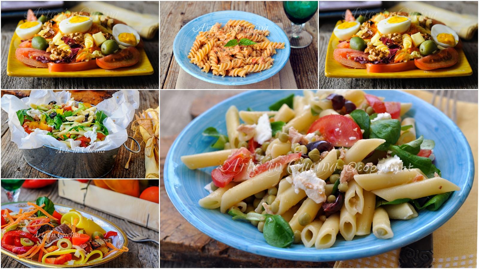 Primi piatti freddi estivi facili e veloci con verdure for Primi piatti semplici