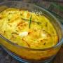 Teglia di patate prosciutto e uova soffice al forno o padella