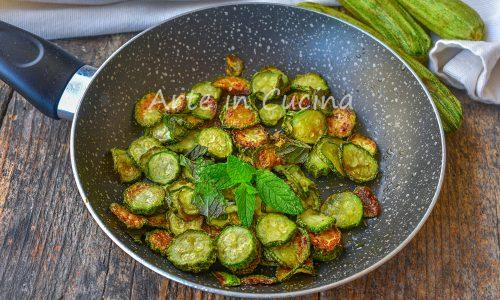 Zucchine alla poverella ricetta contadina
