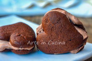 Batticuori nutella e panna biscotti gelato veloci