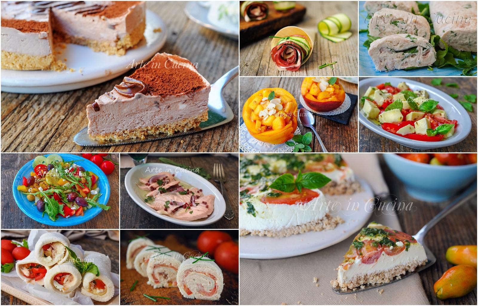 Piatti Freddi Veloci Da Asporto menu senza cottura ricette fredde per non cucinare anche light