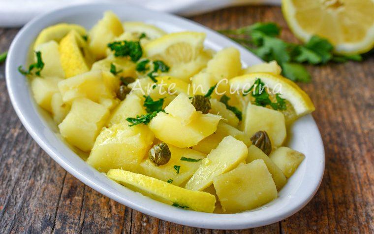Patate al limone insalata fredda