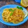 Spaghetti al limone e pangrattato