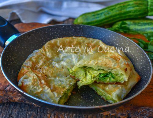 Torta di zucchine in padella veloce in 10 minuti