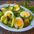 Zucchine con patate e uova contorno o secondo light