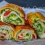 Cannoli di pancarrè caprese con zucchine in 10 minuti