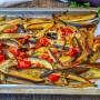 Teglia di melanzane morbide e saporite al forno