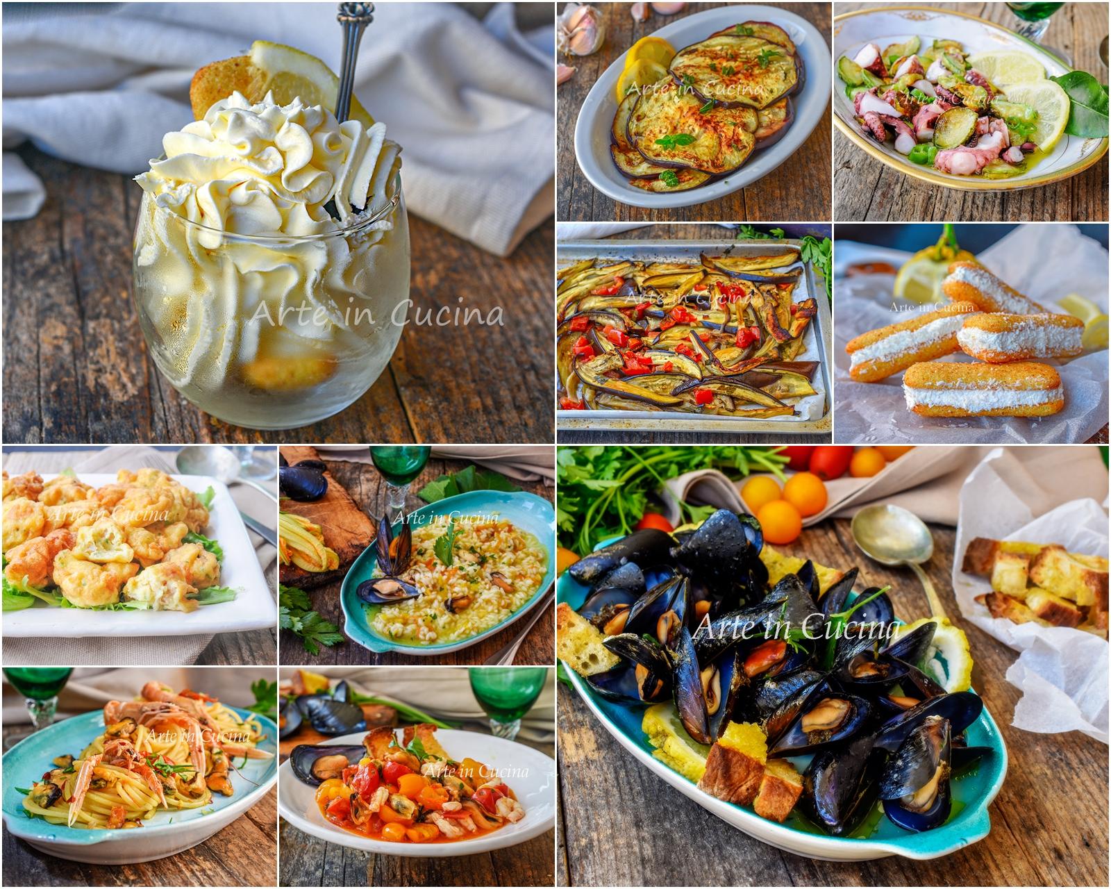 Cosa Cucinare Ad Agosto menu di ferragosto a base di pesce ricette dall'antipasto al