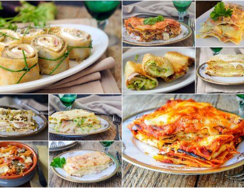 Pasta al forno per ferragosto 12 primi piatti con verdure