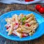 Pasta fredda ricotta e pomodori