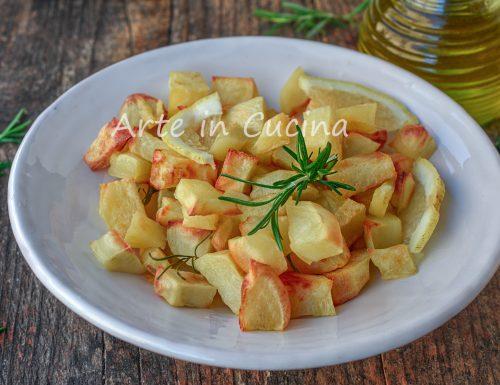 Patate al limone al forno contorno gustoso